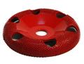 "Disc slefuire 4""X 5/8 (101,6 mm X 15,87mm) fata rotunda tor cu gauri - mediu, image 1"