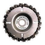Disc taietor cu lant de drujba 100mm 22 dinti Lancelot, image 1