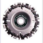 Disc taietor cu lant de drujba 100mm 14 dinti Lancelot, image 1