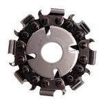 Disc taietor cu lant de drujba 50mm 8 dinti Merlin, image 1