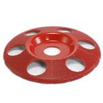 """Disc sculptura 5"""" (127mm) cu gauri - unghi 7/8 (22,23mm)- mediu, image 1"""