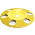 """Disc sculptura 7""""( 177,8 mm ) cu gauri - unghi 7/8"""" (22,23 mm) -Granulatie fina, image 1"""