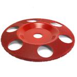 """Disc sculptura 7""""( 177,8 mm ) cu gauri - unghi 7/8"""" (22,23 mm) -Granulatie medie, image 1"""