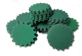 """Discuri verzi crestate + suport mandrina cu arici de 2"""" (50,8mm) pentru diferite granulatii, image 1"""