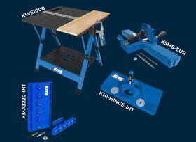 Pachet promotional cu masa mobila pentru proiecte si dispozitive KREG, image 1