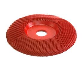 "Disc slefuire 4""X 5/8"" (101,6 mm X 15,87mm)  fata plata - mediu, image 1"