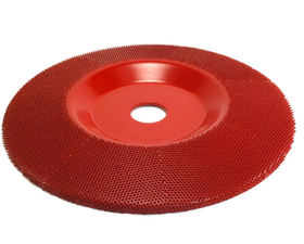"Disc sculptura 7"" (177,8mm) granulatie medie in unghi 7/8 (22,23 mm), image 1"