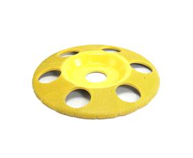 """Disc sculptura 5"""" (127 mm) cu gauri - unghi 7/8"""" (22,23mm) - fin, image 1"""