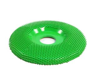 """Disc slefuire 4""""X 7/8"""" (101,6mm X 22,23 mm) fata plata - aspru, image 1"""