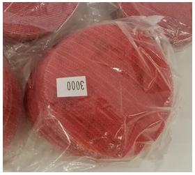 """Discuri de slefuit Wonder Weave 3"""" (76,2mm) - 25 buc/pachet - granulatie 3000, image 1"""