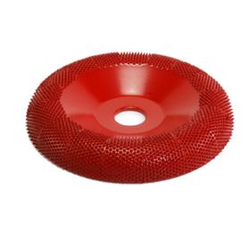 "Disc slefuire 4""X 5/8 (101,6 mm X 15,87mm) fata rotunda tor – Granulatie medie, image 1"