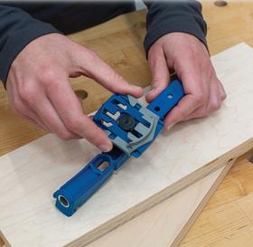 """Dispozitiv (Jig) pentru realizarea de """"găuri de buzunar"""" Pocket-Hole Jig 310, image 8"""
