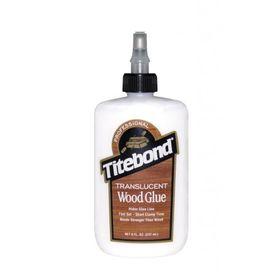 Titebond Translucent Wood Glue 237ml, image 1
