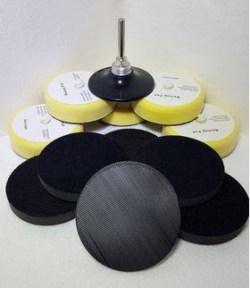 """Kit de Prindere pentru Discuri de Slefuit de 2"""" si 3 """", image 1"""